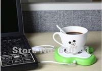 free shipping comperter mini usb heater,calorifier heater, water warmer,novel product,Apple USB Cup Warmer