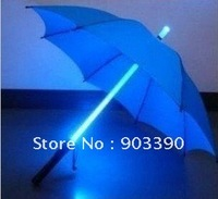Wholesale LED luminous umbrella/Luminous umbrella/Creative gifts and more color 10pcs/lot free shipping