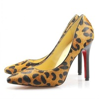 Free Shipping! 2012 New Spring Fashion sandals leather shoes,Casual shoes woman,Sexy Satin Leopard pattern party shoes for women