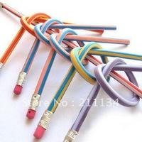 New Flexible Soft  Pencil ,Kids,Party Favours, 18cm, 80 pcs, Free Shipping!