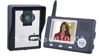 "2.4Ghz wireless video door phone intercom 100m wireless transmission + 2.0 MP camera + 3.5"" TFT LCD monitor"