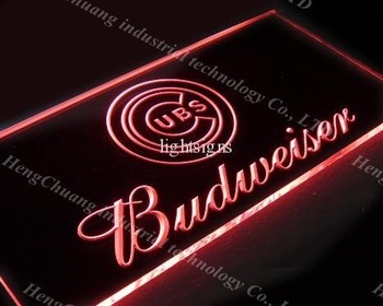 high quality & very fast Budweiser UBS Led Neon Signs Light Signs Display Neon Light sign 278