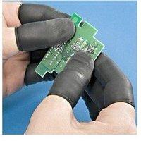 Free Shipping 1000pcs 1000 pcs Conductive Latex Finger Cots - Medium size
