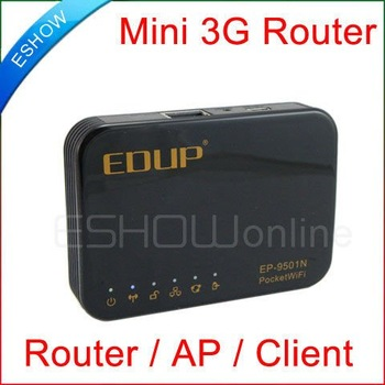 3G WiFi Wireless WAN Router AP Modem USB 150Mbps Mini Mobile phone Broadband D2045A Eshow