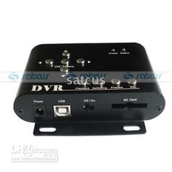 High Definition Mini Car/Home/Security DVR Surveillance System Card, 2 Channels DVR(China (Mainland))