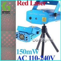 150mW Laser stage Projector / Red Moving Party Laser Stage Light / Laser party stage projector + Free Shipping