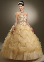 New arrival!strapless with short jacket tulle lace up emrboidery beaded custom-made ball gown prom dress 2013