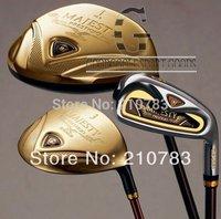golf Clubs MARUMAN MAJESTY PRESTIGIO Complete Club Sets 3wood,9irons.1putter(no bag)steel/shaft FREE SHIPPING