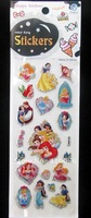 Wholesale Cartoon Cute Snow White Paper Stickers 200 pcs/lot