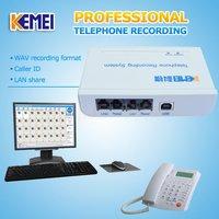 USB telephone recording equipment