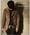 Corea corduroy jacket Retro Leisure men's jacket Shitsuke suit jacket