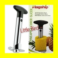 Easy Fruit Pineapple Corer Slicer Peeler Parer Cutter Stainless Steel Simple