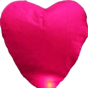 Heart!fire chinese lantern party, halloween/christmas sky lantern,chinese sky lantern,wishing lantern kongming free ship nl033