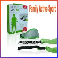 2 in 1 Family Active Sport for Wii fit Free Shipping