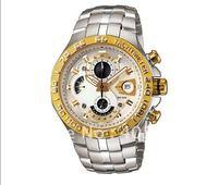 New Waterproof  Wristwatch > Limited edition EFE-505-7AV Chronograph quartz sport men's watches watch