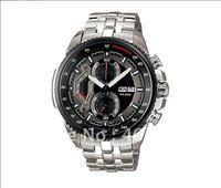 New Waterproof  Wristwatch > Limited edition EF-558-1AV Chronograph quartz sport men's watches stainless steel watch