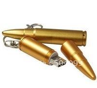 Metal Bullet Shape 4GB USB 2.0 Flash Drive Stick Guaranteed full Creative U disk 4G   memory Pen Drive