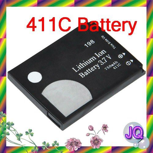 IP-411C Mobile Phone Replacement Battery For LG KG198 KG190 KG195 Cellphone 750mAh Free Shipping Retail 2pcs/lot(China (Mainland))