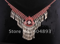 Wedding jewelry set  crystal  necklace+earring