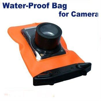 Free Shipping 1PCS Waterproof Camera bag Underwater Rain Protectective waterproof Digital camera cover/case