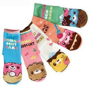 cool babys cool babys free shipping Children 's candy bar socks/Children's socks/Baby ice cream socksdropship