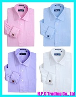 Free Shipping! Mens Dress Shirts with France Cuff Link,  Long Sleeve Shirt, Men Shirt, Retail &amp; Wholesale