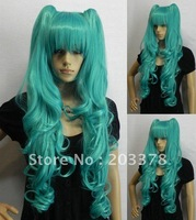 VOCALOID miku MAGNET Green cosplay Wig cos costume wig 5pcs/lot mix order