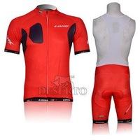 2012 New! LOOK Short Sleeve Cycling Jersey+ Bib Shorts . 8244