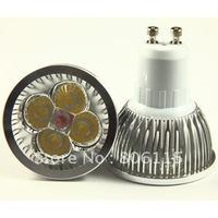 100pcs,FREE SHIPPING! 4X3W-Dimmable GU10 LED Bulb Spot Light 4x3W  12W 110V/230V