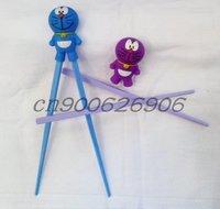 children learning chopsticks plastic toy infant chopsticks , top quality +free shipping 25 pcs / lot