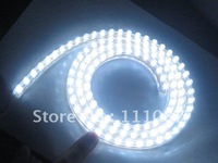 2PCS X  White  PVC Flexible Car LED strip light Waterproof 24 LED lamp 24cm car decoration light led car light free Shipping