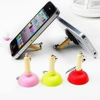 3 pcs/pack Lovely Closestool Chuck Stents Phone Chain / Key Ring (SC-13)