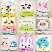 Min Order $20 (mixed order) Retail Fashion Girls Socks / Cotton Cartoon Multi-color No Show (ZM-7786)