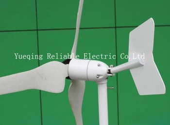 2013 Free shiping Small/Mini three phase permanent DC12/24V horizontal 100w wind turbine/power generator