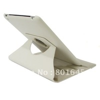 Silicon + PU Leather Case with Holder for New iPad (iPad 3)  iPad 2