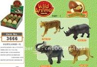 3D puzzle animals ( 4 assorted )