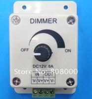 DC12v LED dimmer 8A 96w adjust brightness for led strip, led bulb, led lighting free shipping History: Feedback .