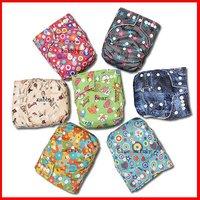 Baby Cloth Diaper 100pcs+100pcs Microfiber inserts