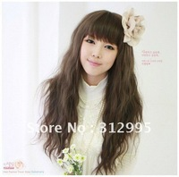 Free  shopping A long straight wig resistance to high temperature can be very hot rolls wig  Scroll to wig   can hot pull