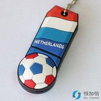 Netherlands Football 4GB/8GB/16GB USB 2.0 Flash Pen Drive Memory Stick