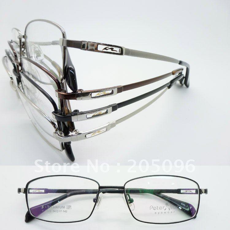 wholesales lot desiger's bendable Beta titanium with IP vacuum eletroplating color prescription eyeglass frames free shipping(China (Mainland))