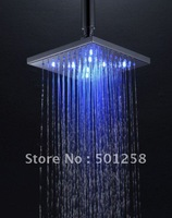 (200*200)Led head shower+free shipping!
