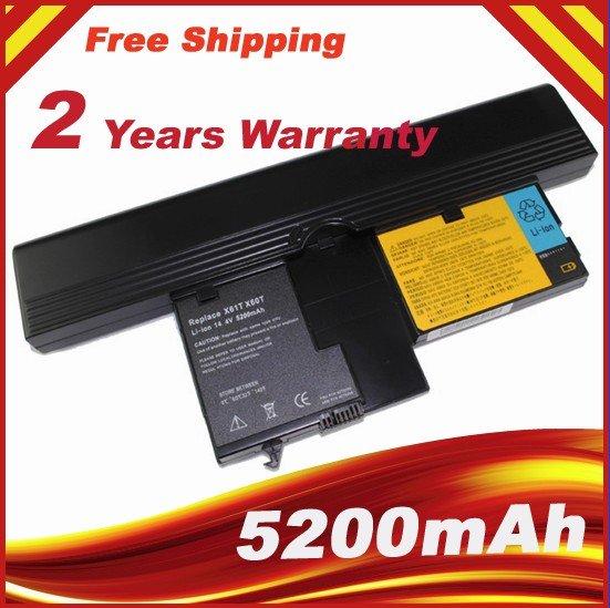 5200mAh Battery For IBM ThinkPad X60 Tablet PC Series, X61 Tablet PC Series 40Y8314 40Y8318(China (Mainland))