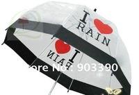Hot Creative Bubble Umbrella/Apollo straight pole /Gossip Girl/Transparent umbrella/5pcs/lot free shipping
