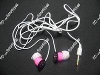 Wholesale Tours Earphone Headphone Headsets  50pcs/lot With plastic Bag Free Shipping