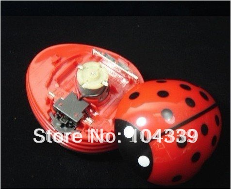 wholesale-1pcs-Lovely mini ladybug vacuum cleaner dust collector Free shipping