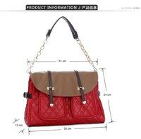 2012 New Style Women Handbag Messenger Bag Metal Chain