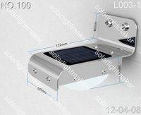 Free shipping 1 Set(16 LED) Sound Sensor Solar Light  Solar Outdoor light  Solar wall light