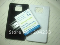 For Samsung Galaxy 2 i9100 extended batteries 3800mAh with battery cover free shipping 50pcs/lot
