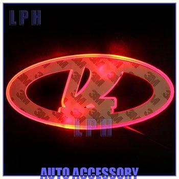 option one,car logo light for Lada Priora,car badge light,auto led light,auto emblem led lamp